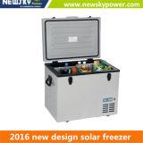 Congélateur de réfrigérateur portatif de réfrigérateur de véhicule d'énergie solaire de C.C avec le compresseur
