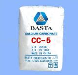 Пластмасса углекислого кальция Gound CaCO3 порошка заполнителя