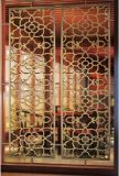 304のステンレス鋼ミラーのローズの金の壁パネルスクリーンの工場