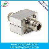 CNC加工高精度フライスアルマイト小型アルミパーツ