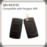 3 boutons Car Key FOB Compatible avec Peugeot 408 Car Key Remote