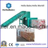 Hydraulisches automatisches horizontales Altpapier, das emballierenmaschine aufbereitet