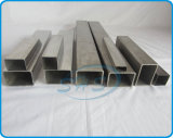 Pipes rectangulaires d'acier inoxydable pour des meubles