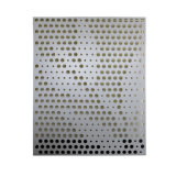 Metal perforado de aluminio de la configuración decorativa del material de construcción