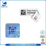 El mejor Hf modificado para requisitos particulares RFID del precio marca la etiqueta autoadhesiva con etiqueta