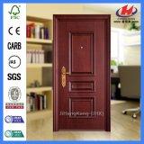 Porte en bois composée interne de mélamine d'appartement (JHK-MD09)