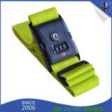 Bagagli di nylon della tessitura del poliestere stampati abitudine/cinghia di legno della cinghia con l'inarcamento di plastica