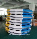 Balsa redonda inflable con tricolor