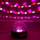 Свет MP3 Bluetooth света влияния диско рождественской вечеринки кристаллический волшебный