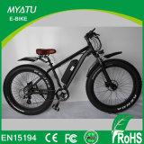 قوة [إبيك/26ينش] كهربائيّة درّاجة [أل] سبيكة [1000و] محاكية كثّ مكشوف درّاجة سمين كهربائيّة لأنّ ترقية