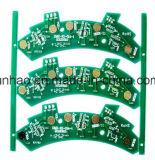 緑の二重側面PCBのボードが付いている自動Fr4 2layer PCB