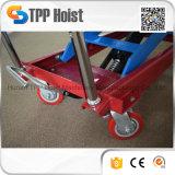 il carrello mobile idraulico manuale della mano 300kg Scissor l'elevatore Pts300A da vendere