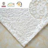 Белая вышивка ткани шнурка, красивейше и чувствительно с хорошим качеством, Ln10070