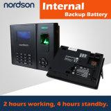 Regulador del acceso de la huella digital de Fr-Bio202-a y batería de reserva incorporada de la atención del tiempo
