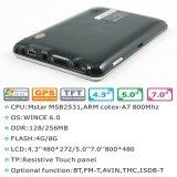 """Bon marché 5.0 """" système de navigation portatif du véhicule GPS avec TMC Bluetooth Poids du commerce-dans ISDB-T TV"""