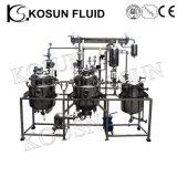 Apparatuur van de Extractie van de Essentiële Olie van het Blad van de Olijf van de Thee van het roestvrij staal de Kruiden