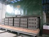 Кирпич пепла делая печь завода & тоннеля