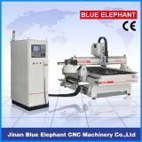 CNC del ranurador del Atc Ele-1325/Atc de trabajo de madera de la máquina/del carrusel del grabador del ranurador del CNC con 8 herramientas