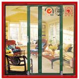 Алюминиевая сползая дверь патио в спрошенных размерах и цветах