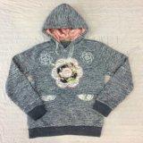 O esporte Hoodies cinzento da menina das crianças do inverno para o desgaste dos miúdos veste Sq-6670