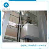 800kg~1600kg 1.0m/Sのガラス観察の上昇の乗客のエレベーター
