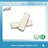 Heißester Verkauf N38 passte Neodym-Block-Magneten an