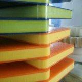 Tarjeta del HDPE de 3 capas