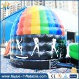 Heiße verkaufende aufblasbare Prahler-Disco-Abdeckung mit Plättchen für das Springen