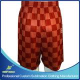 Shorts uniformi della partita di football americano degli uomini su ordinazione di sublimazione per usura di gioco del calcio