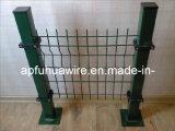 Frontière de sécurité enduite populaire de treillis métallique de PVC