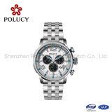 自動機械腕時計の最上質のステンレス鋼の実業家の腕時計