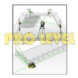Het elektronische auto-Nivelleert Niveau van de Laser van de Hoge Precisie Roterende (sre-208G)