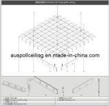 Falso techo de aluminio de célula abierta