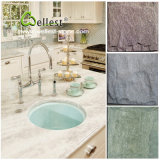 자연적인 노랗거나 녹색 또는 회색 또는 시골풍 또는 까만 규암 슬레이트