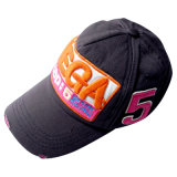 5 painéis Sports Cap com 3D Embroidery Logo