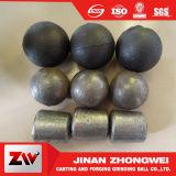 Bille inférieure de fer de moulage de chrome de broyeur à boulets d'usine de la colle