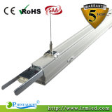 Do sarrafo elevado do louro do sistema do Trunking luz linear do diodo emissor de luz