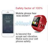Samsung S4/Note 3 HTCすべてのためのスマートな腕時計U8の腕時計電話/Smartの人間の特徴をもつ腕時計U8