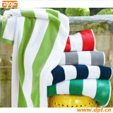 Grande toalha de praia do algodão da cópia do tamanho (DPFT80139)