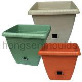 プラスチック注入の植木鉢型