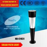 4 vatios brillantes estupendos de luz solar del LED con la batería de litio