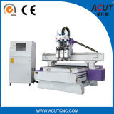 China-Hersteller-Holzbearbeitung CNC-Maschine mit Spindel drei