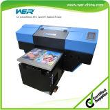 A2 impressora UV de alta velocidade principal Desktop do diodo emissor de luz Digital do dobro Dx5