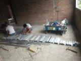 Gips van het Mortier van het Cement van het Pleister van de Muur van Equipemnt van de bouw geeft het Automatische Machine terug