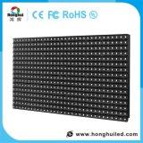 Visualizzazione di LED esterna di colore completo P10 di basso costo