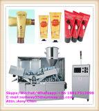 Automaticlly Crema de alta velocidad / pasta de dientes / Médico Oinment / Adhesivo / Betún de aluminio-plástico laminado Tubo de llenado y sellado de la máquina-2017