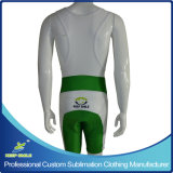 Customized Sublimation Cycling Bib Short com Custom Design