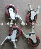 Roda durável segura do andaime da construção