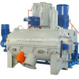 La chaleur horizontale et mélangeur frais à mélanger la poudre de PVC