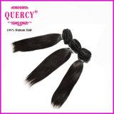 Cabelo indiano de Remy, cabelo não processado cru do Indian do Virgin